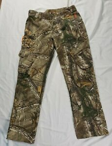 Women's SHE Outdoor Apparel Realtree Xtra Camo Pants Large