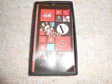 Nokia Lumia 920 Silicon case Hülle schwarz