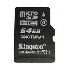 64GB Original Kingston MicroSD TF Memory Card Phone whlesale M