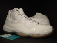 2010 Nike Air Jordan XI 11 Retro ANNIVERSARY WHITE SILVER COOL GREY 408201-101 9