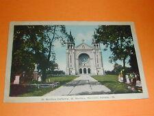St. Boniface Cathedral, St. Boniface, Manitoba Postcard Canada