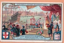 Drake Returns To London From South America c1905 Trade Ad  Card