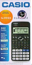 Casio FX-991EX Black Scientific Calculator FX 991 EX, 552 Functions Classwiz New