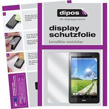 2x Acer Iconia One 8 B1-810 Schutzfolie klar Displayschutzfolie Folie dipos