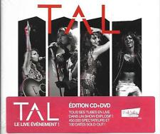 CD + DVD DIGIPACK TAL A L'INFINI LIVE TOUR EDITION CD+DVD DE 2014 NEUF SCELLE