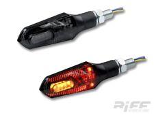 LED Blinker Rücklicht Bremslicht 3 in 1 Arrow schwarz getönt Motorrad Quad ATV