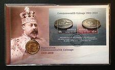 2010 $1 PNC - Centenary of Australian Coinage