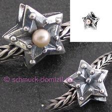 TROLLBEADS Stern der Leidenschaft / Sternzeichen Fische / Rosa Perle TAGBE-00226