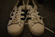 Adidas Men Superstar Shoe Women's Size 9 Sneaker Originals Stripes