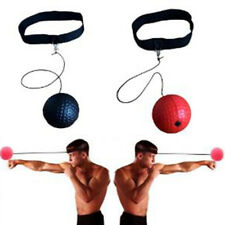 Boxing Fight Ball Headband for Reflex Reaction Speed Training in Boxing Punch Lw