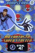 Spiderman Heroes And Villains Card #258 Mr. Fantastic Super Strength