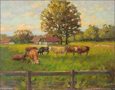 1950-1999 Original-der-Zeit Antike & künstlerische Malerei aus Leinwand mit Impressionismus