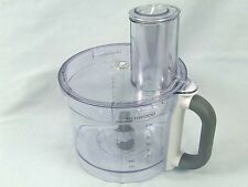 KW715837 KENWOOD BOWL, LID & PUSHER FOR FDP601 & MORE - GENUINE -  IN HEIDELBERG