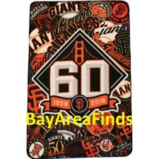 San Francisco Giants 60th Anniversary Blanket 7/14/2018 SGA