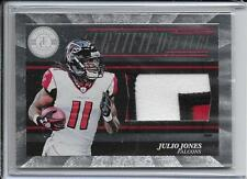 2011 Totally Certified Future Julio Jones RC Jumbo Patch Lot of 4 # /49 Falcons