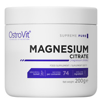 Pure Magnesium Citrate 200g Powder Highly Absorbable Formula