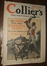 1915 Collier's The National Weekly Vol. 54 No. 23 F.X. Leyendecker Cover Art