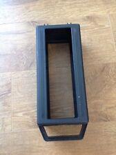 Cassettes and Tape Storage Holder Case Box Black Plastic 12 Tapes Vintage Item