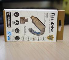 128G i-Flash Drive USB Memory Drive Stick For iPhone 5 6SP iPod iPad iFlashdrive