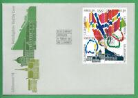 Norvège - FDC 12/02/1994 des N°1100/03 - J.O de Lillehammer