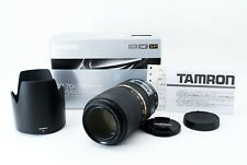 【UNUSED in BOX】 Tamron SP A005 70-300mm f/4-5.6 Di VC USD Lens For canon JAPAN