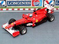Ferrari F10 Fernando Alonso Formula 1 Racing Car 1:32 Scale Die-cast Model