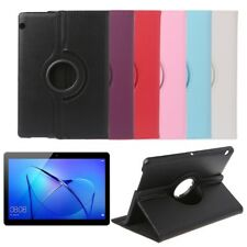"Rotation Folio Flip Stand Leather Case For 9.6"" Huawei MediaPad T3 AGS-L09 L03"