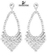 New Swarovski Best Crystal Mesh Dangle Pierced Stud Earrings 5080966