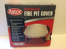 New listing Astor Premium Round Fire Pit Cover up to 44� New Open Box