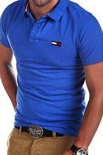 Tommy Hilfiger Herren Poloshirt T-shirt 6 Farben Neu Pilot Big Flag Gr S-XXL