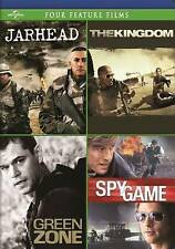 Jarhead / The Kingdom / Green Zone / Spy Game Four Feature Films, New DVD, Brend