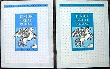 3RD 4TH GRADE 3 & 4 READER JUNIOR GREAT BK VOL1&2 Read Aloud CLASSICS Homeschool