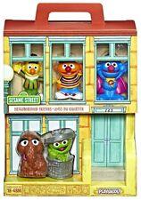 Neighborhood Friends Figure 5-Pack [Bert, Ernie, Grover, Oscar & Snuffaluffagus]