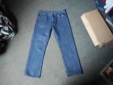 "Fair Line Classic Fit Jeans Waist 36"" Leg 30"" Faded Dark Blue Mens Jeans"