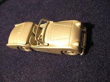 Modell Auto Triumph TR 2 1954 aus Zinn.Danbury Mint 1/60.Zinnmodell USA Pewter