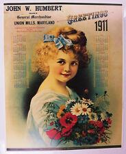 2017 1911 1989 Liberty Belle Saloon Calendar Reno Nevada Union Mills Maryland nu