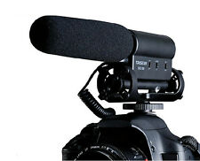 SGC-598 PRO Shotgun Interview DV Stereo MIC Microphone for Canon Nikon Pentax
