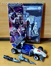 Authentic Transformers War for Cybertron Siege Autobot MIRAGE Deluxe CHUG Hasbro