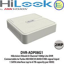 Hikvision hilook DVR-ADP08G1 8 canales 1080 Lite Dvr, Turbo HD/HDCVI/dispositivo antimanipulación/CVBS
