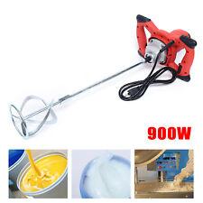 900w Electric Mixer Plaster Paint Mortar Mixer Dry Powder Coating Stirring Rod