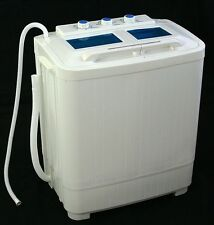 Electric Portable Mini Small Compact Washing Machine Washer & Dryer Spin Machine