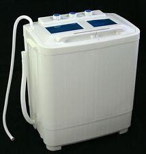 Electric Portable Mini Small Compact Washing Machine Washer & Dryer Spin Machine