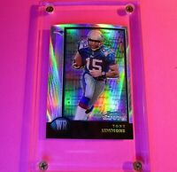 1998 Bowman Chrome IInterstate REFRACTOR Rookie #30 Tony Simmons Patriots RC
