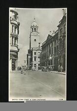 Glos Gloucestershire BRISTOL Corn St Exchange unposted c1950s? RP PPC