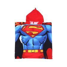 PONCHO DE BAIN OU PLAGE ENFANT SUPERMAN 55 CM X 110 CM