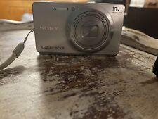 Sony Cyber-shot DSC-W690 16.1MP Digital Camera - Silver
