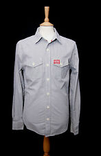 Superdry Men's Long Sleeve fit Cotton Casual Shirts & Tops