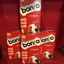 4 x Dog Biscuits Bonio Original 650g Training Treat Healthy Teeth Gums Digestion
