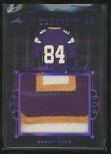 2019 In The Game RANDY MOSS Jumbo Patch purple /5 Vikings