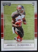 2017 Playoff RC Jeremy McNichols #239 SAN FRANCISCO 49er's Mint !